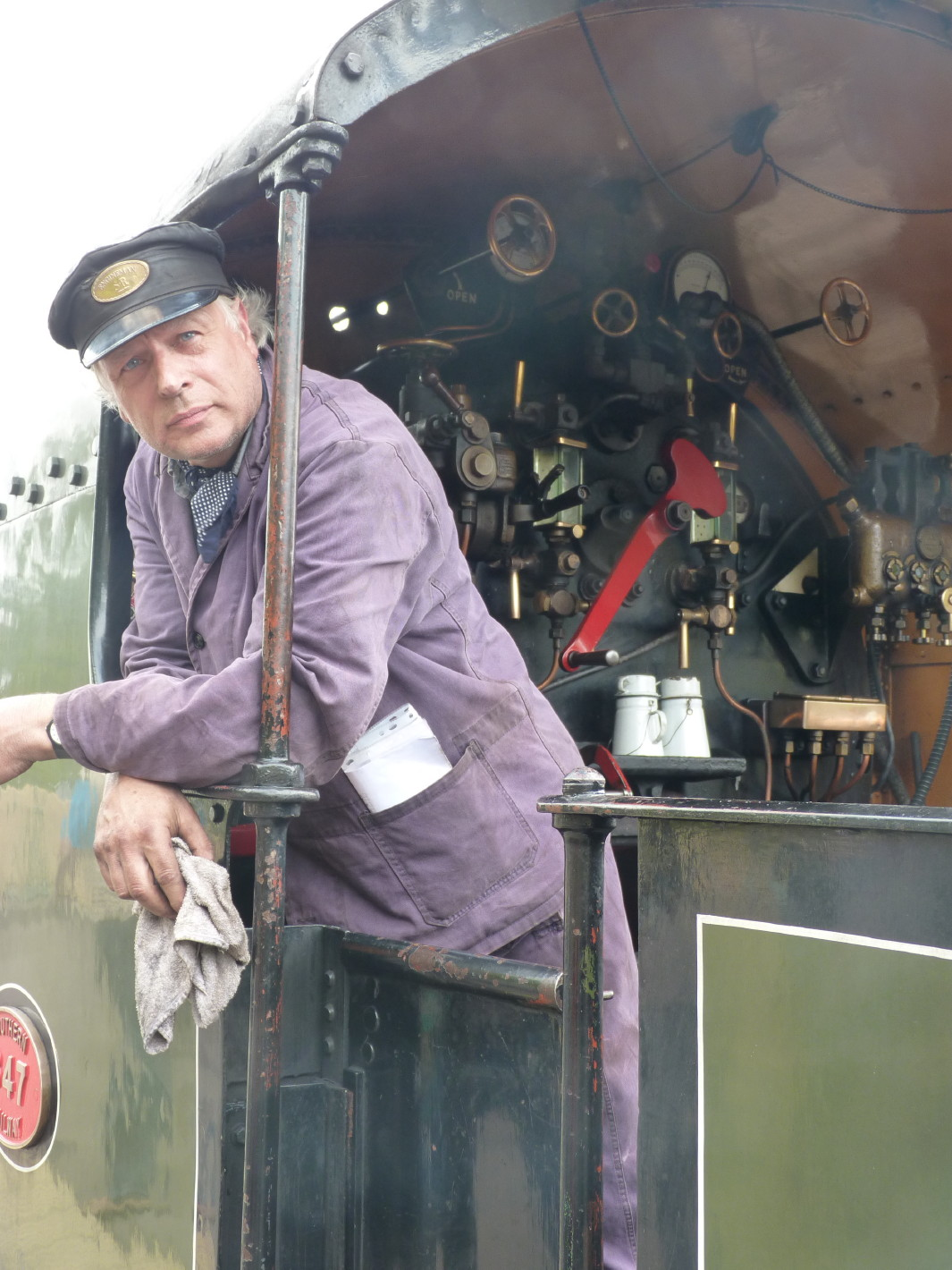 Bluebell Railway - Our driver