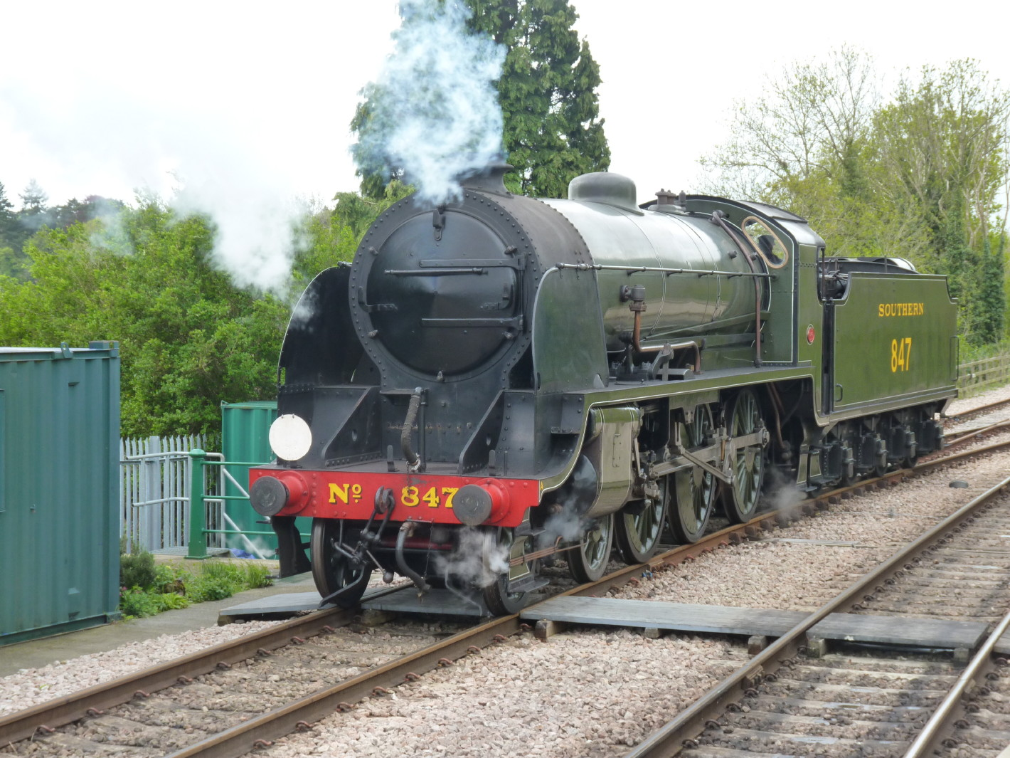 Bluebell Railway - Steam's up