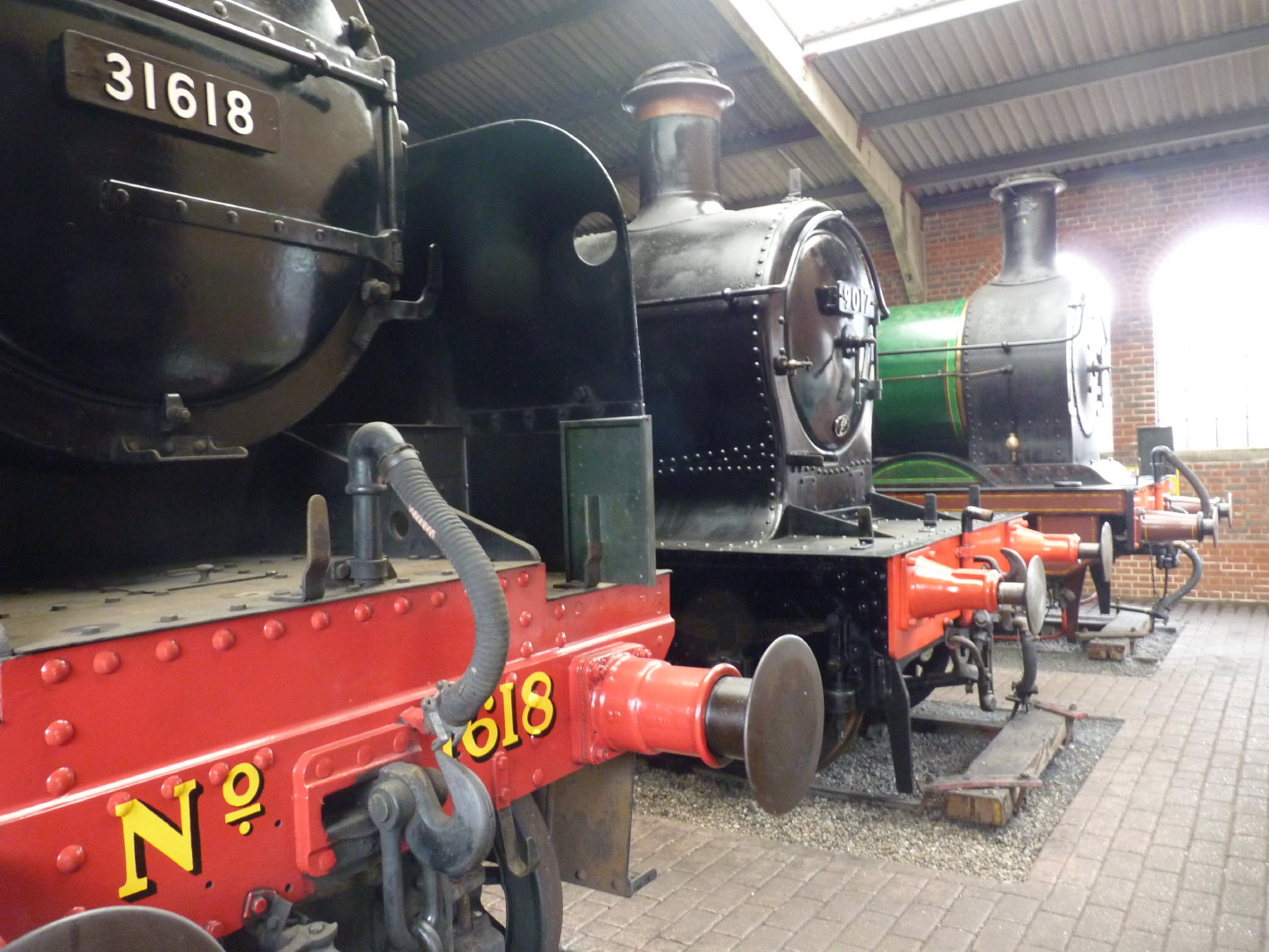 Bluebell Railway - The engine shed