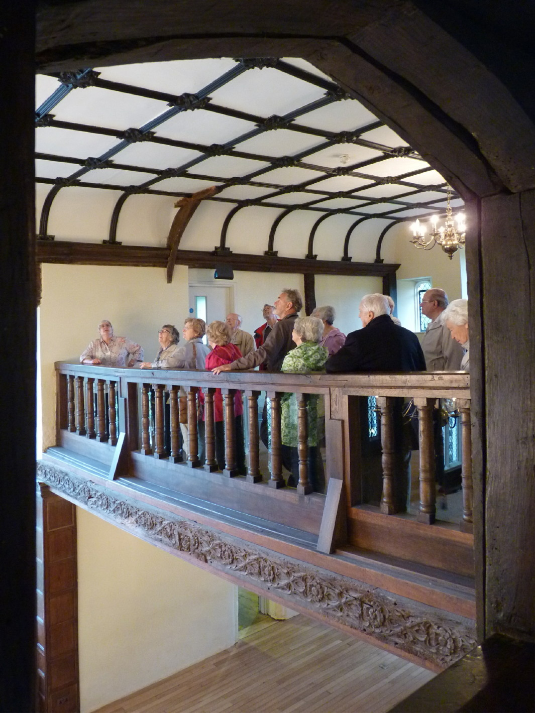 Hall Place, the minstrels' gallery