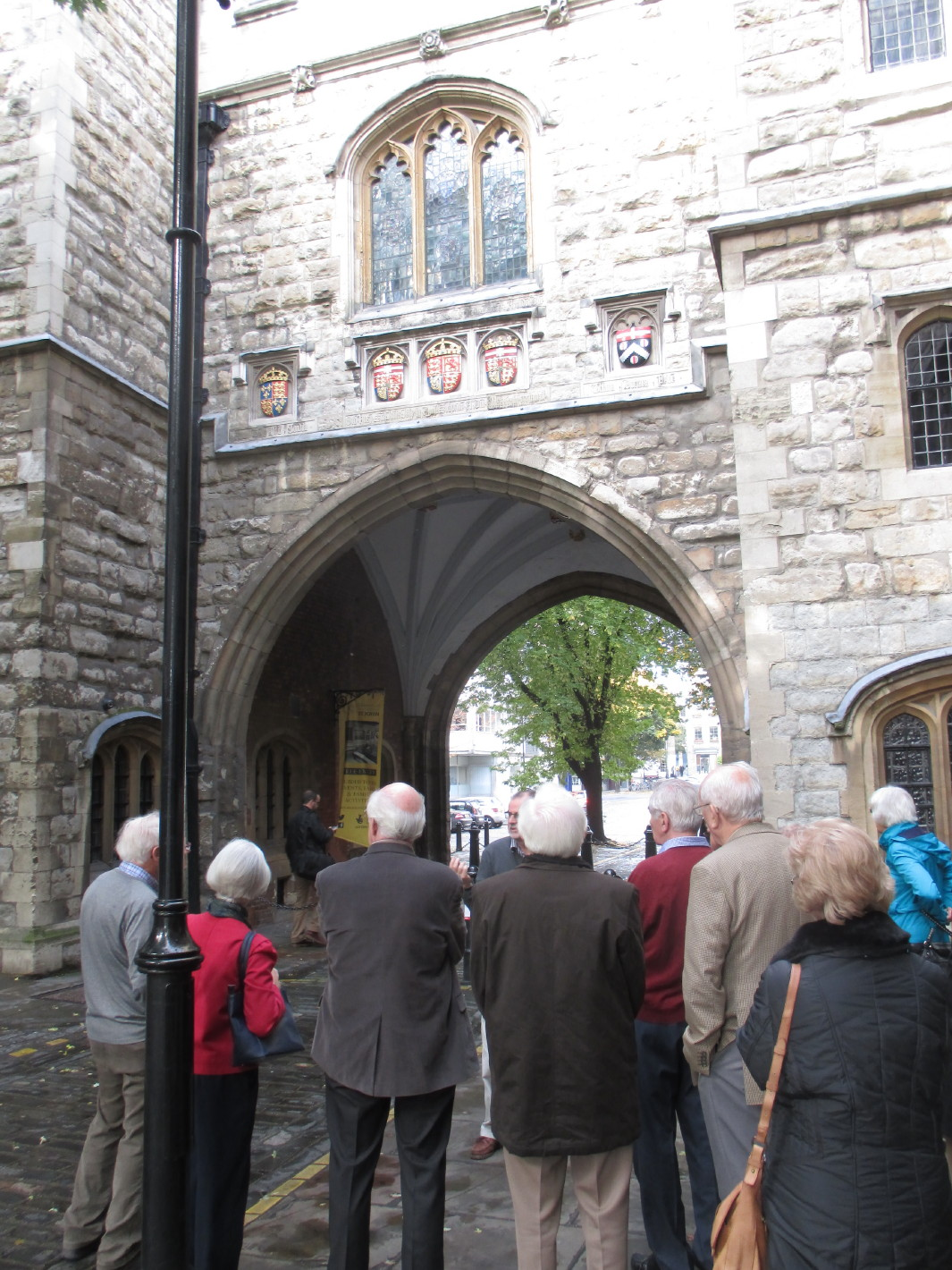 Museum of the Order of St John, entrance archway