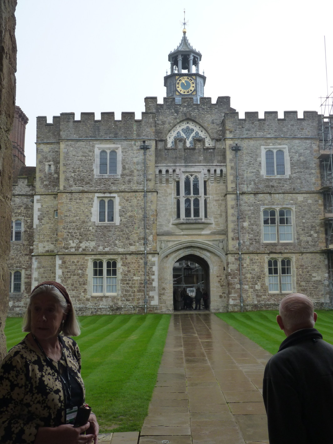 Knole House Green Courtyard