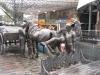 Bronzes at Camden Stables Market